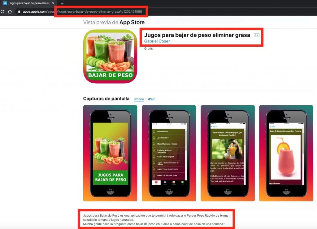 Factores que influyen para los paquetes de apps en App Store